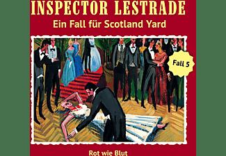 Inspector Lestrade - Rot Wie Blut (Folge 5)  - (CD)