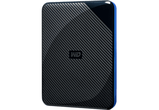 WESTERN DIGITAL GAMING DRIVE 2TB BLACK F/PLAYSTATION - Disco rigido (HDD, 2 TB, Nero/Blu)