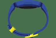 FITBIT Ace 2, Aktivitätstracker, S,L, Blau/Gelb