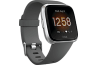 FITBIT Smartwatch Versa Lite Gr. S & L, grau/silber