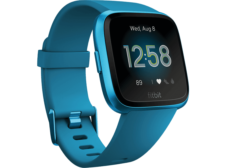 FITBIT  Versa Lite Smartwatch Aluminium, Kunststoff, S,L, Marine Blau