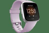 FITBIT Versa Lite Smartwatch Aluminium Kunststoff, S,L, Flieder/Silber