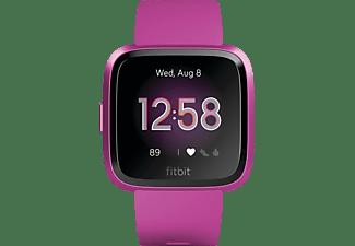 FITBIT Versa Lite Smartwatch Aluminium Kunststoff, S,L, Magenta
