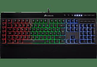 CORSAIR Clavier gamer K55 RGB AZERTY