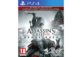 PS4 - Assassin's Creed III Remastered /Multilinguale