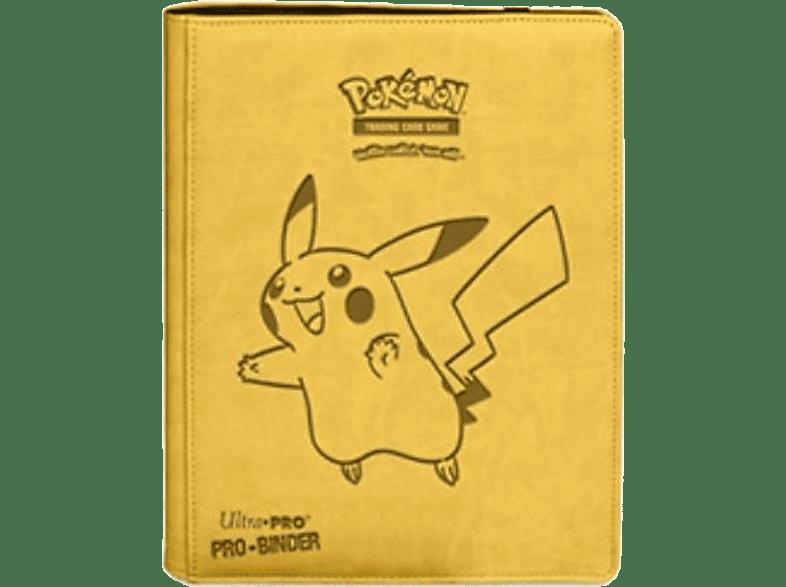 ULTRA PRO PKM Pikachu Premium Pro-Binder Sammelbox, Gelb