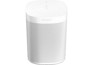 SONOS One (Gen2) Smart Speaker mit Sprachsteuerung App-steuerbar, W-LAN Schnittstelle, Weiß