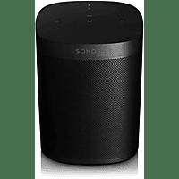 SONOS One Gen2 - Smart Speaker (App-steuerbar, W-LAN Schnittstelle, Schwarz)