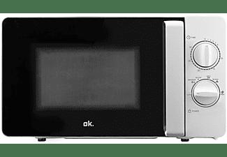 Microondas - OK OMW 1213 W, 700 W, 17 L, Temporizador, Blanco