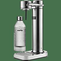 AARKE AA01 C2  Carbonator II Wassersprudler Silber