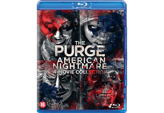 The Purge: 4 Movie Collection - Blu-ray