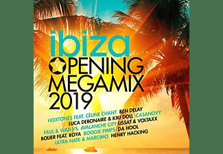 VARIOUS - Ibiza Opening Megamix 2019  - (CD)