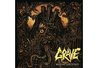 Grave - Burial Ground (Re-issue 2019) - (CD)