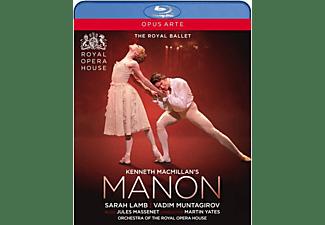 Lamb,Sarah/Muntagirov,Vadim/Orchestra of the ROH - Kenneth MacMillan's Manon  - (DVD)