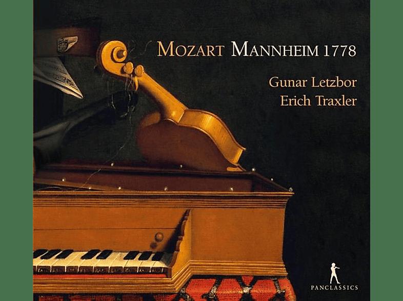 Letzbor,Gunar/Traxler,Erich - Mannheim 1778-Sonaten KV 301,302,303,305,296 [CD]