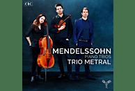 Trio Metral - Mendelssohn Piano Trios No. 1 & 2 [CD]
