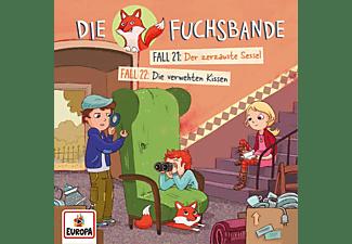 Die Fuchsbande - Die Fuchsbande 011/Fall 21: Der zerzauste Sessel/Fall 22: Die verwehten Kissen  - (CD)