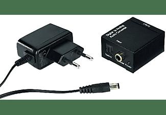 Conversor de audio - Hama AC80, Analógico, Negro