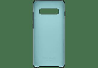 SAMSUNG Silicone Cover, Backcover, Samsung, Galaxy S10+, Schwarz