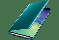 SAMSUNG Clear View Cover, Bookcover, Samsung, Galaxy S10+, Grün