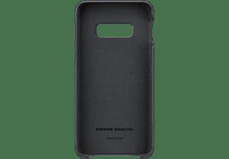 SAMSUNG Leather Cover, Backcover, Samsung, Galaxy S10e, Schwarz