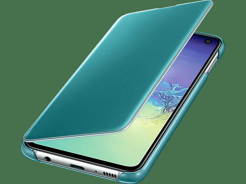 SAMSUNG Clear View Cover , Bookcover, Samsung, Galaxy S10e, Grün