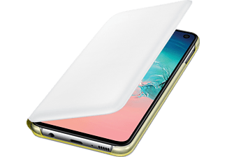 SAMSUNG LED View Cover, Bookcover, Samsung, Galaxy S10e, Weiß