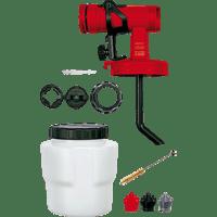 EINHELL Farbsprühsystem-Zubehör 800 ml Farbsprühaufsatz, Weiß/Grau/Schwarz