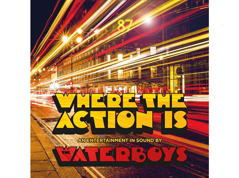 The Waterboys - Where the Action Is [CD]