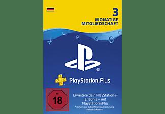 PlayStation Plus Card 3 Monate (für deutsche SEN-Konten)