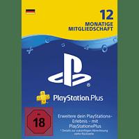 PlayStation Plus Card 12 Monate (für deutsche SEN-Konten)
