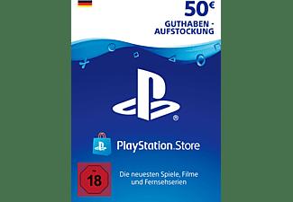 PlayStation Live Cards 50 Euro (Guthaben-Aufstockung PSN Live Card für deutsche SEN-Konten)