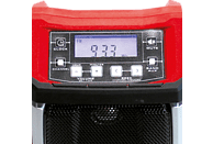 EINHELL TE-CR 18 Li-Solo Akku Radio, Schwarz/Rot