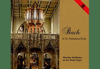 Martina Mailänder - Bach In St.Pantaleon Köln  - (CD)