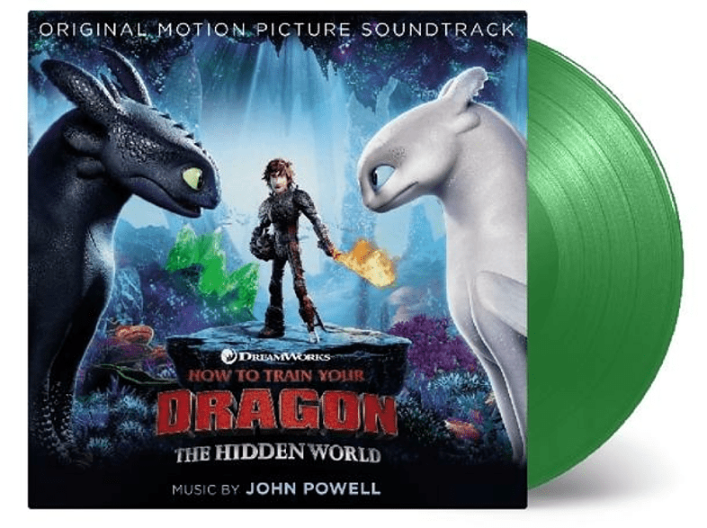 VARIOUS - How To Train Your Dragon 3 (ltd.grünes Vinyl) [Vinyl]