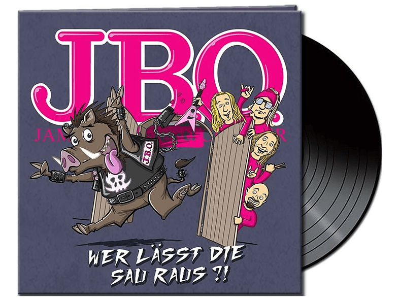 J.B.O. - Wer Lässt Die Sau Raus?! (Lim.Gtf.Black Vinyl) [Vinyl]