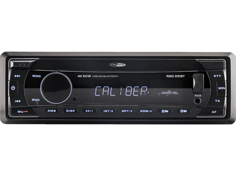 CALIBER RMD 231BT Autoradio 1 DIN, 200 Watt