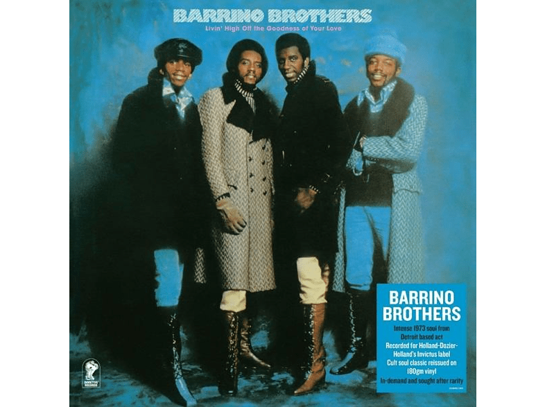 The Barrino Brothers - Livin' Off The Godness [Vinyl]