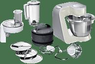 BOSCH MUM58L20 CreationLine Küchenmaschine Mineral Grey/Silber (Rührschüsselkapazität: 3,9 Liter, 1000 Watt)