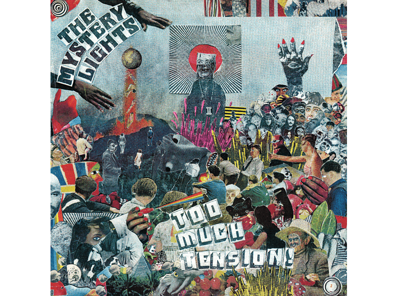 The Mystery Lights - TOO MUCH TENSION! [CD]