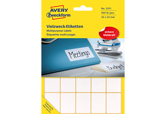 AVERY ZWECKFORM 3321, Mini-Organisations-Etiketten