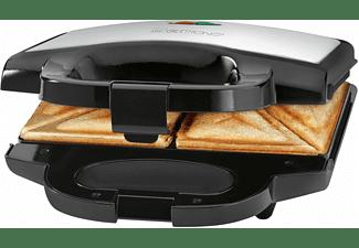 CLATRONIC ST 3628 Sandwichmaker Schwarz/Edelstahl