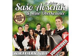 Saso Avsenik & Seine Oberkrain - Wir feiern Jubiläum  - (CD)