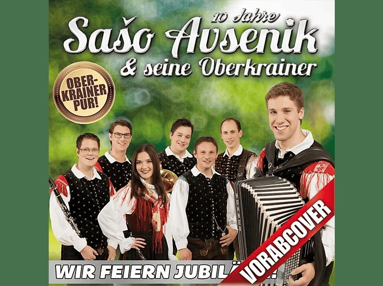 Saso Avsenik & Seine Oberkrain - Wir feiern Jubiläum [CD]