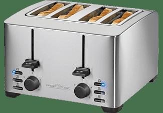 PROFI COOK PC-TA 1073 Toaster Inox (1500 Watt, Schlitze: 4)