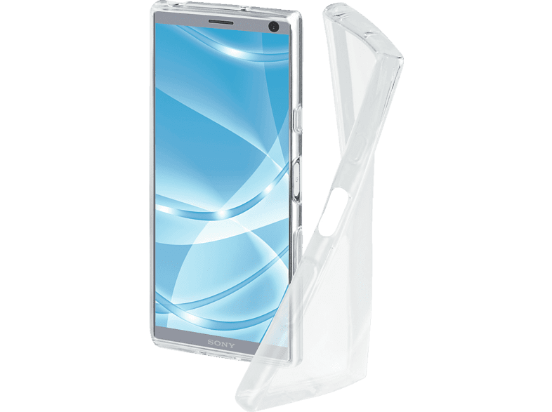 HAMA Crystal Clear Backcover Sony Xperia 10 Thermoplastisches Polyurethan Transparent