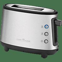 PROFI COOK PC-TA 1122 Toaster Inox/Schwarz (500 Watt, Schlitze: 1)