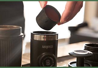 WACACO Nanopresso Tragbare Espressomaschine Kaffeemaschine Grau