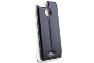 AGM 28190 Bookcover Xiaomi Redmi 6 Obermaterial Kunstleder, Thermoplastisches Polyurethan Marineblau