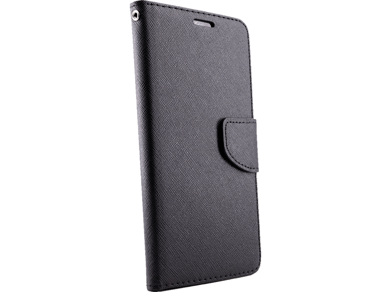 AGM 28268 Bookcover Xiaomi Mi A1 Obermaterial Kunstleder, Thermoplastisches Polyurethan Schwarz